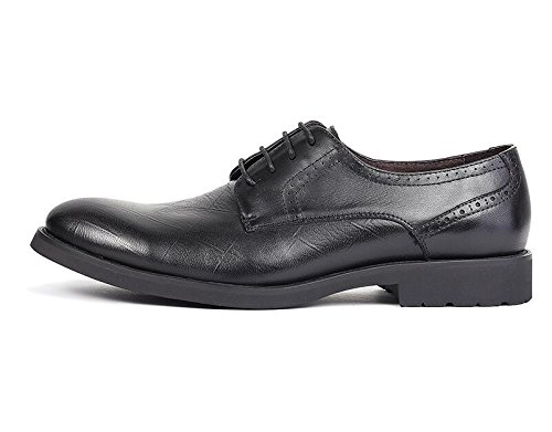 Herren Lederschuhe Schwarz Fashion Business Formelle Kleidung Schwarz Lederschuhe Braun Schuhe schwarz c146ce