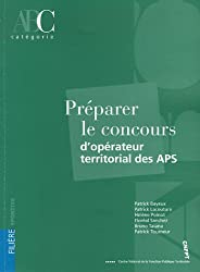 Préparer le concours d'opérateur territorial des APS