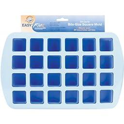 Wilton 2105-4890 Easy Flex Silicone 24-Cavity Bite Square Pan
