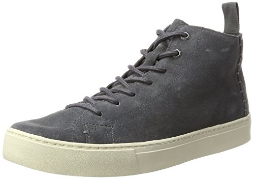TOMS Lenox Mid Forged Iron Grey Suede Sneakers Shoes (11)