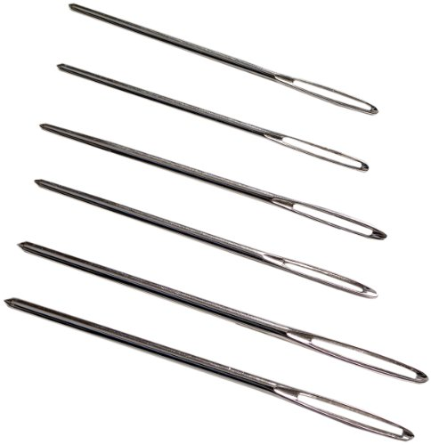 Lion Brand Yarn 400-5-5002 Large-Eye Blunt Needles, Set of 6 ()
