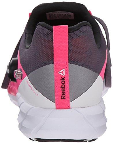 coal Reebok Da 2 Scarpa Corsa Grey Fusion Pink Zpump 0 white Alloy tin solar 7w6rW7aq