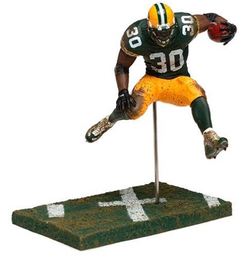 2004 - McFarlane / Sportspicks - Ahman Green #30 - Running Back - Green Bay Packers - Series 8 - - New - OOP - Collectible - Ahman Green Game