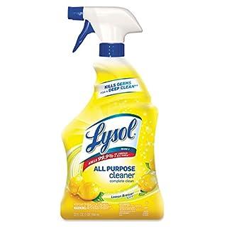 Lysol All Purpose Cleaner Lemon Breeze Scent 22 oz. Spray