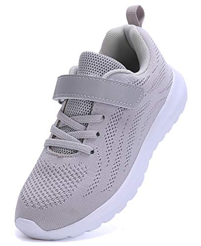 Pictures of Boy's Girl's Lightweight Walking Sneakers Gray1 4.5 M US Big Kid 1