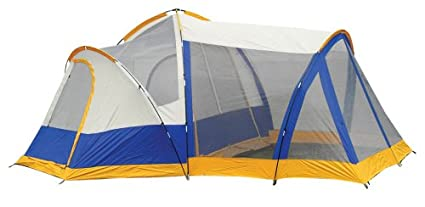 15-Foot x 14-Foot Two-Room Seven-Person Lodge Tent with  sc 1 st  Amazon.com & Amazon.com : 15-Foot x 14-Foot Two-Room Seven-Person Lodge Tent ...