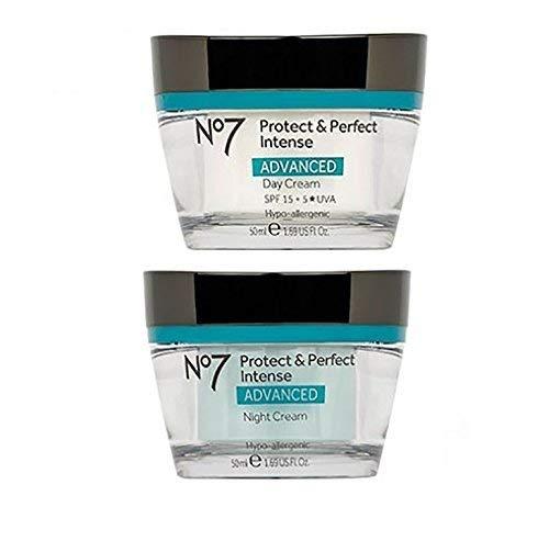 No7 Protect & Perfect Intense Day Cream + Protect & Perfect Intense Night Cream Advanced by No. 7 (Image #1)
