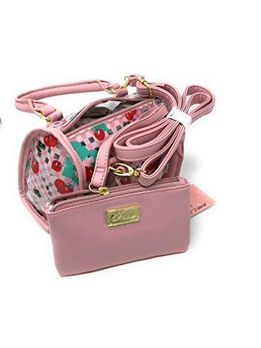 Hobo Johnson Betsey (Luv Betsey Cherry and Bees Pink HOBO Handbag Satchel)