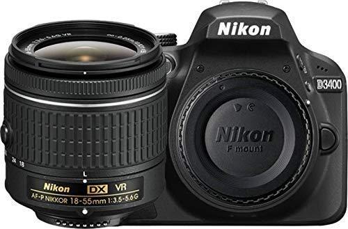 Nikon D3400 - Cámara réflex Digital + Objetivo AF-P DX NIKKOR 18 ...