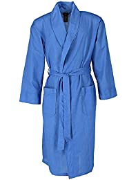 Mens Big and Tall Lightweight Woven Robe