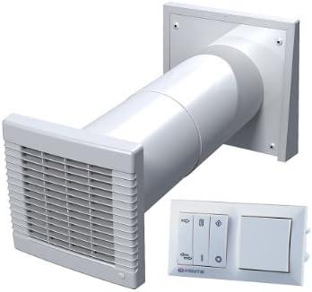 Häufig Dezentrale Wohnraumlüftung zum Nachrüsten, mit Wärmerückgewinnung AJ79