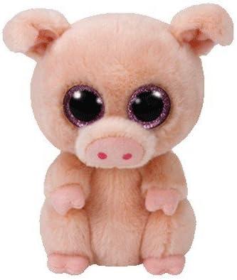 TY - Beanie Boos Piggley, peluche cerdito, 15 cm (United Labels Ibérica 37200TY) , color/modelo surtido