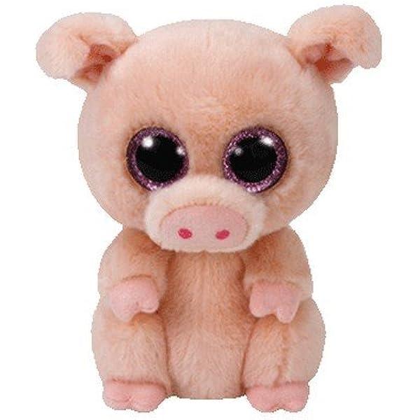 TY - Beanie Boos Piggley, peluche cerdito, 15 cm (United Labels Ibérica 37200TY) , color/modelo surtido: Amazon.es: Juguetes y juegos