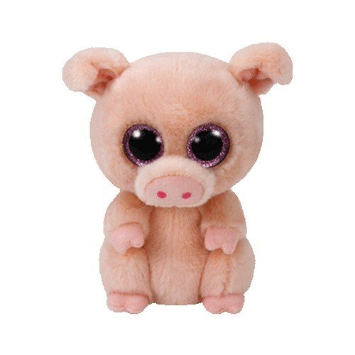(Ty Beanie Boo Plush - Piggley The Pig)