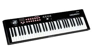 iCON Neuron 6 - Teclado MIDI (61 teclas, USB), color negro