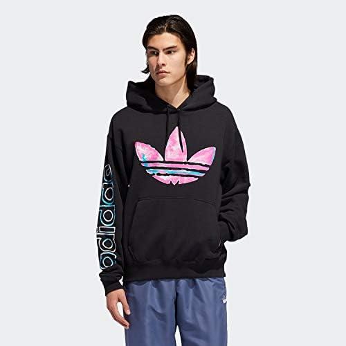 アディダス オリジナルス adidas Originals パーカ フーディ WATERCOLOR HOODIE ED6273 BLACK