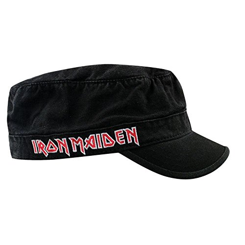 Iron Maiden - Mens Iron Maiden - Logo Cadet Cap Black