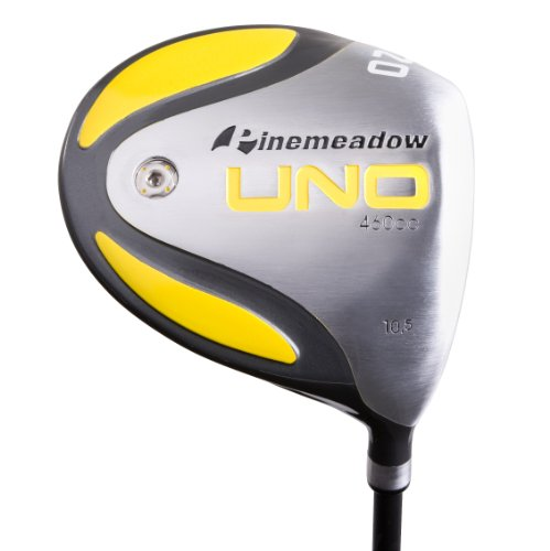 Mens Right Handed Driver - Pinemeadow Uno Driver with Headcover (Right-Handed, 10-Degrees)