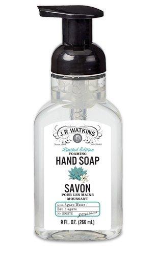 Amazon Com J R Watkins Foaming Hand Soap Agave Water 9 Ounces