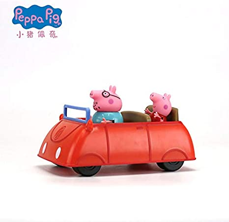 NEW Push Along Vehicle Peppa Pig RED FAMILY CAR
