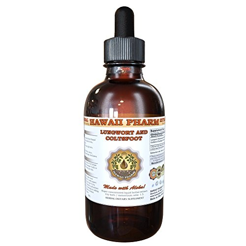 - Lungwort and Coltsfoot Liquid Extract, Organic Lungwort (Pulmonaria officinalis) and Organic Coltsfoot (Tussilago Farfara) Tincture 2 oz