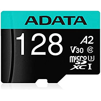 Amazon.com: 128 GB ADATA Premier microSDXC A1 CL10 UHS-1 ...