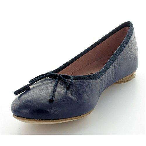 Nikiya blu Ballerine 38 blu donna qRaqwz