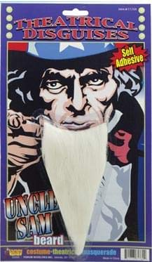 Forum Novelties 61769 Uncle Sam Beard, One Size, Multicolor (Pack of 6)