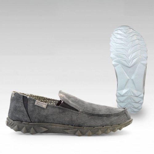Dude Shoes Mens Farty 2 Ferro Grey