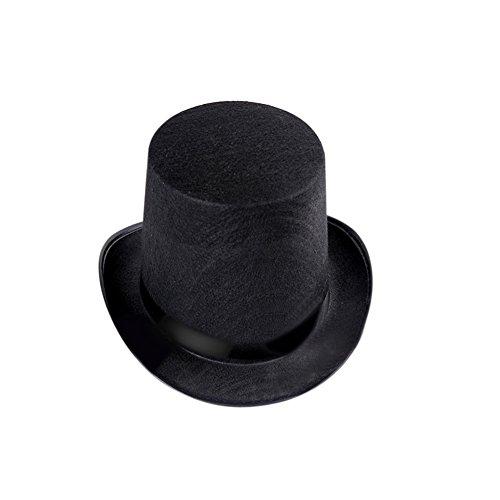 Eamal (Black Stove Pipe Hat)