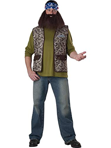 InCharacter Costumes Duck Dynasty Willie Costume, Brown Camo, One Size for $<!--$4.99-->