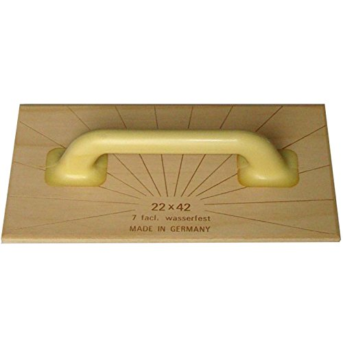220 x 420 mm Stubai 9002793836126 Frat/ás de madera Abachi rosso mediano