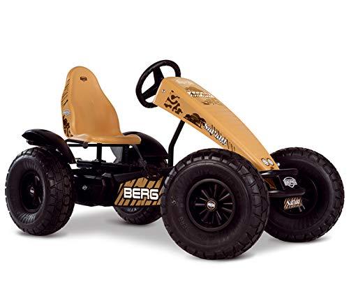 Berg Safari XXL-BFR Kids Pedal Car Go Kart Yellow 5+ Years from BERG Toys