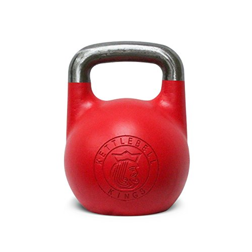 Kettlebell Kings | Kettlebell Sport Competition Style Kettlebell | Designed for Comfort During Cleans, Jerks, Snatches and High Repetition Movements and Exercise