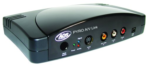 Pyro AV Link API-550 (Analog Video Firewire Converter)