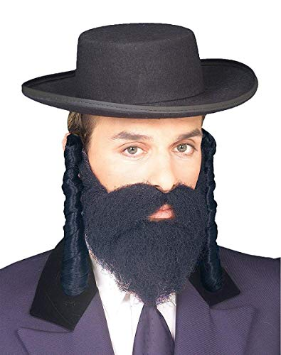 Forum Novelties Men's Adult Jewish Payes Costume Accessory,