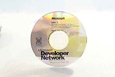 Microsoft Developer Network Visual Studio 97 Disc 2 Visual InterDev Visual J++ 1.1 Professional-Part Number: 96125-Date: March 1997-PC Computer Software Program-Single Replacement Disc