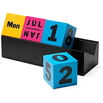 MoMA Cubes Perpetual Calendar - CMYK