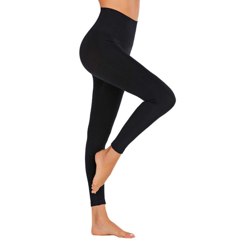 Donna Slim Alto Vita Lunghezza Intera Elasticizzato Palestra Yoga SPORTS Leggins