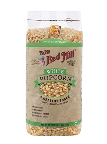 Bob's Red Mill Whole White Popcorn, 27-ounce (Pack of 4) (Package May Vary)