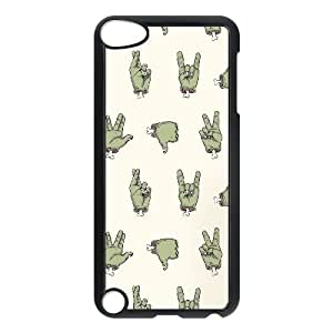 iPod Touch 5 Case Black ZOMBIE HANDS FY1515674