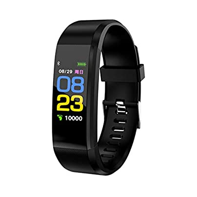 HFXLH Waterproof Smart Bracelet Watch Wristband Blood Pressure Monitoring Heart Rate Monitor Smart Fitness Band Estimated Price £20.00 -