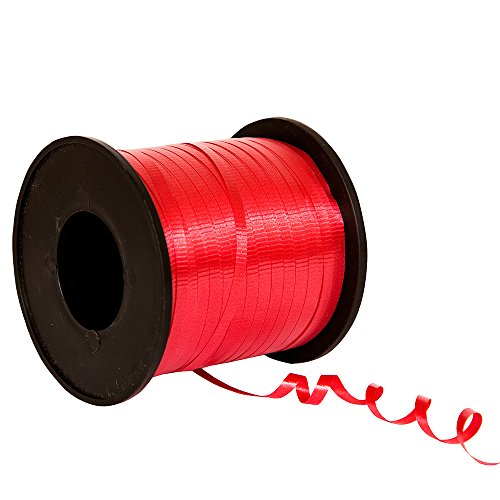 Red Curling Ribbon 100 Yd