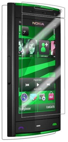 IQ Shield LiQuidSkin Full Coverage Screen Protector for Nokia XpressMusic 5300 HD Clear Anti-Bubble Film