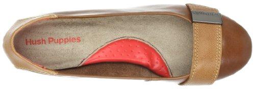 Hush Puppies Candid Pump Or, Chaussures de ville femme, Marron (Tan Leather), 9.5 C/D US |7.5 UK |41 EU