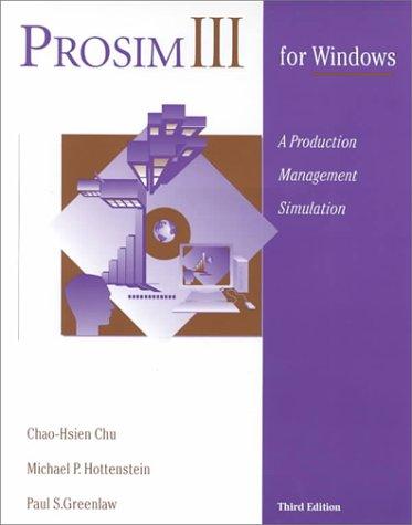 Prosim III for Windows: A Production Management Simulation