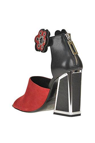 Sandals Maconie Suede Women's Kat MCGLCAT04023I Black ZwSPq
