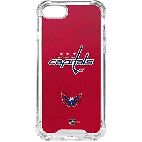 (Washington Capitals iPhone 8 Clear Case   Skinit Clear Case - Transparent Edge iPhone 8 Cover)