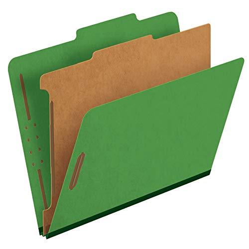 Pendaflex Classification Folders, 1 Divider, 2