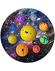 TNGXXWL Zonnestelsel 8 Planeten Push Fidget Toy, Vroege Onderwijs Push Bubble Sensory Eenvoudig Speelgoed voor Kinderen Volwassenen